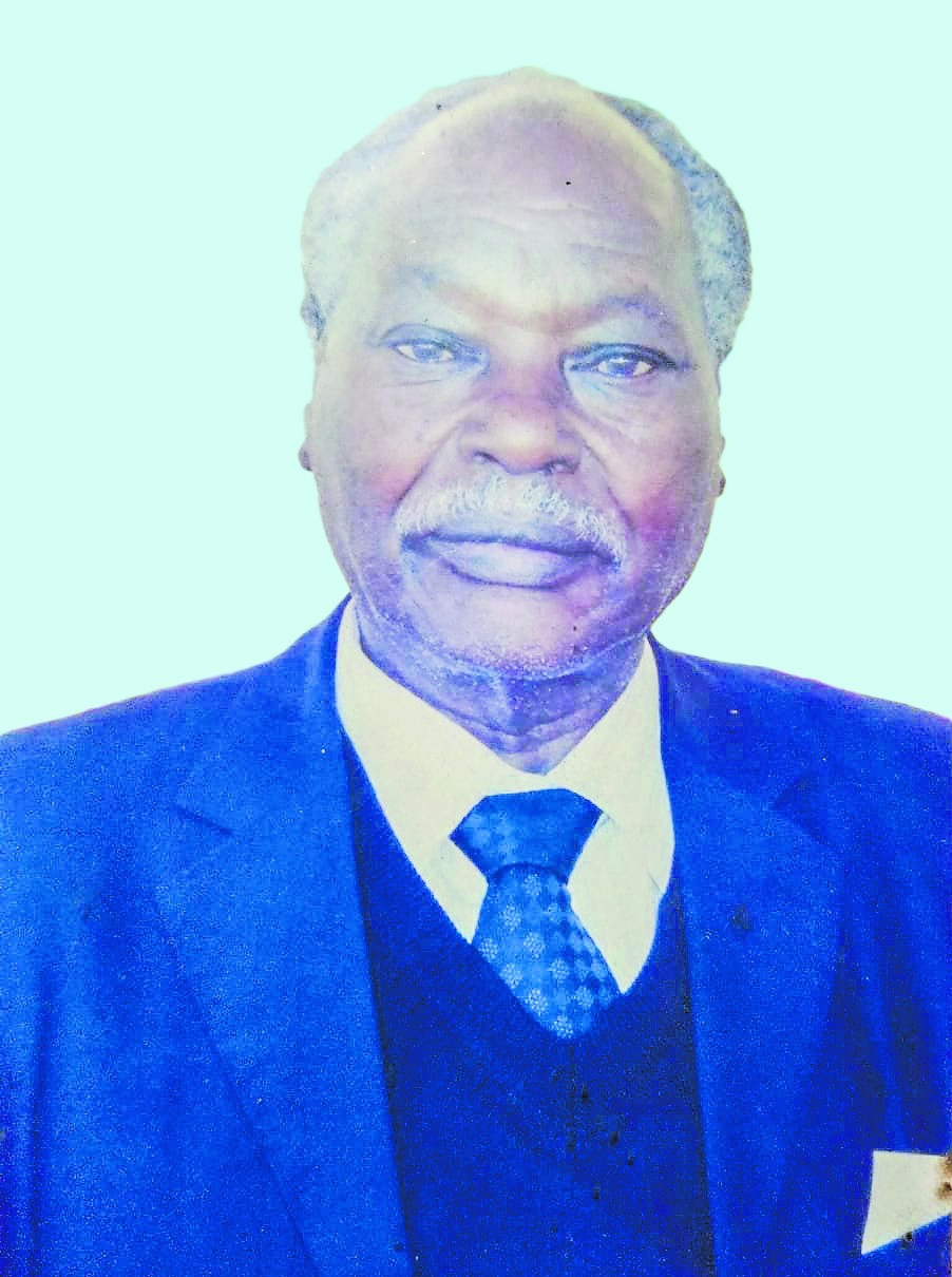 Mzee Rev. Jeremiah Nyakeruma Mong'are