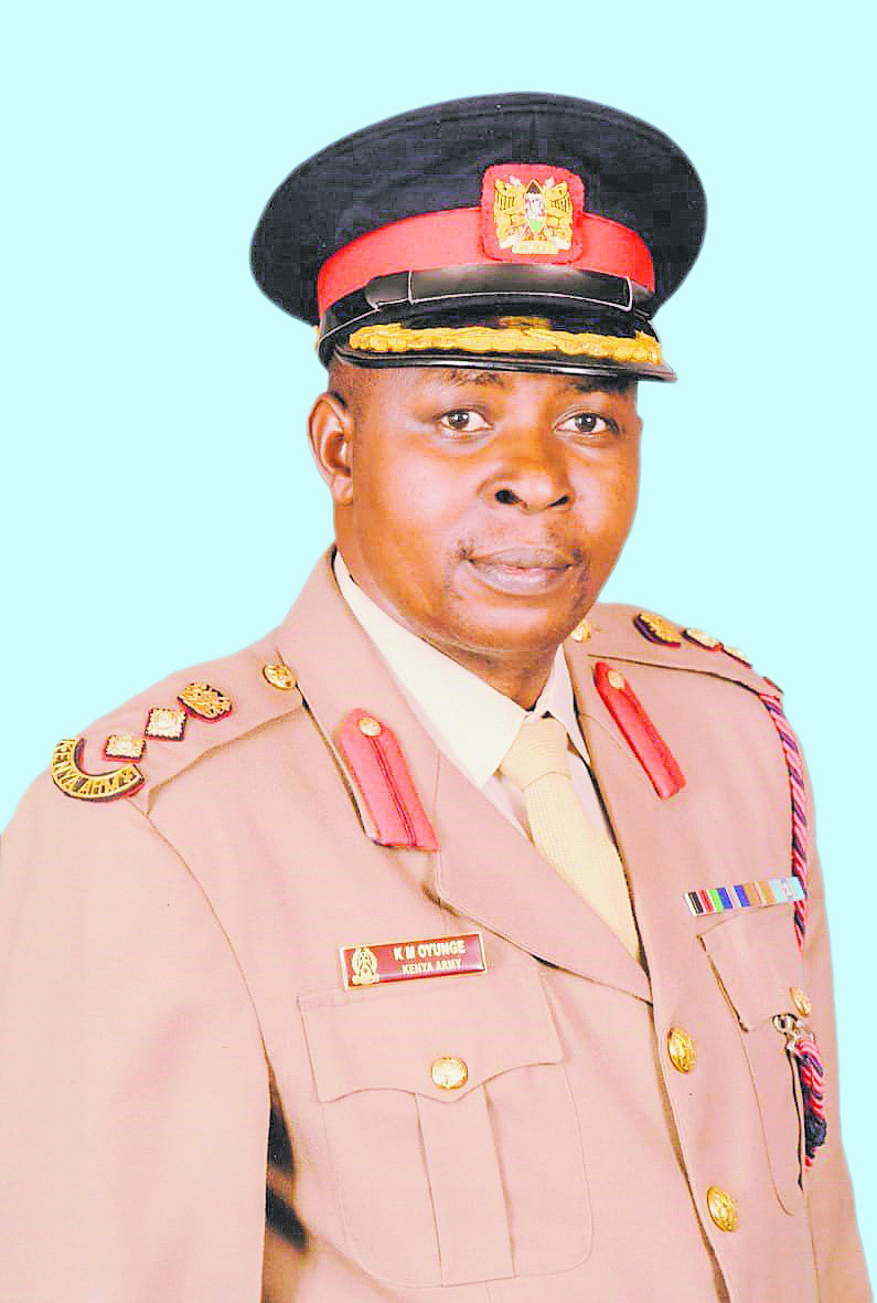 Col. Kennedy Magero Oyunge
