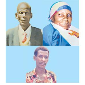 Mzee Jonathan Ole Mosiany  (Kakuya) , Mama Esther Naini Mosiany (Kokoo)  & Gideon K. Mosiany (Bro)