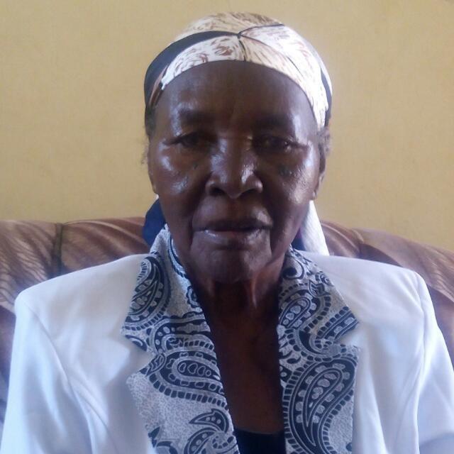 Mama Esther Nyang'ara Ndege