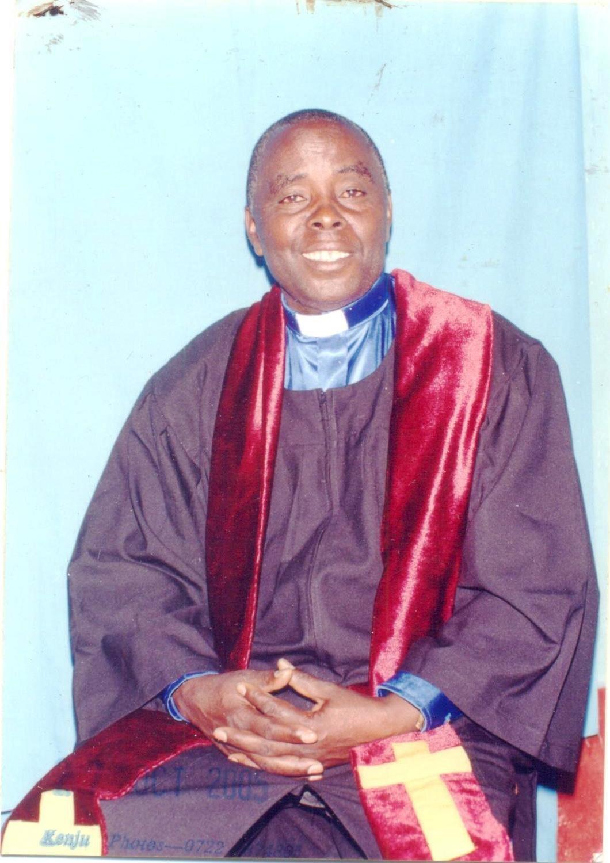 Rev Peter Ng'ang'a Mbuthi