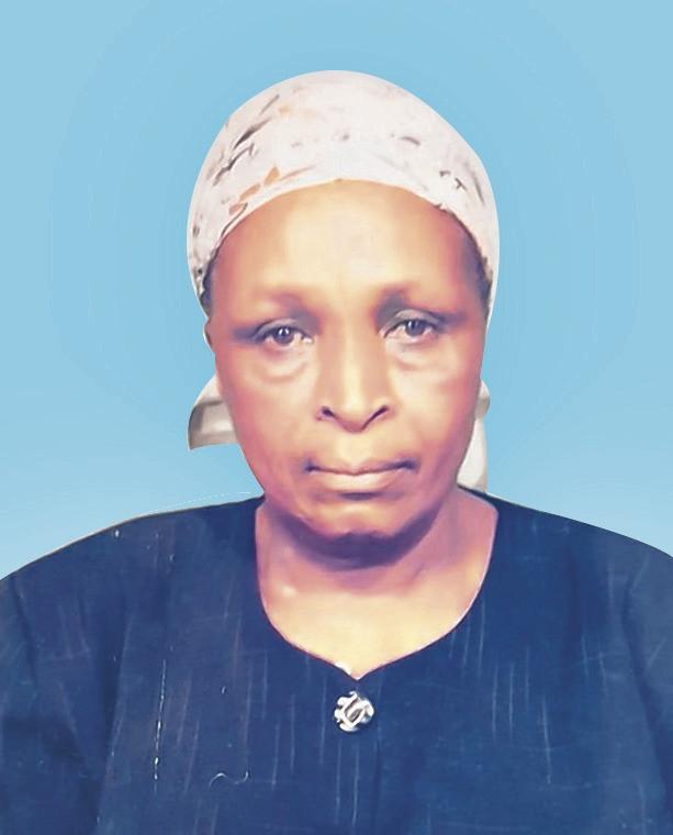 Angelica Muthoni Gachema (Nyina wa Kiarie)