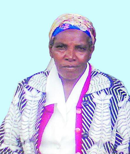 Margaret Wambui (Nyambura) Gacicio