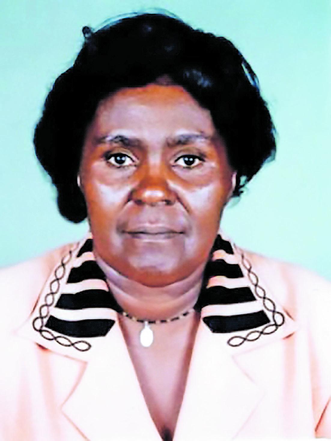 Mrs Alice Wangari Rukwaro