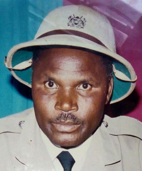 Rtd Snr Chief Patrick Onkoba Kerama