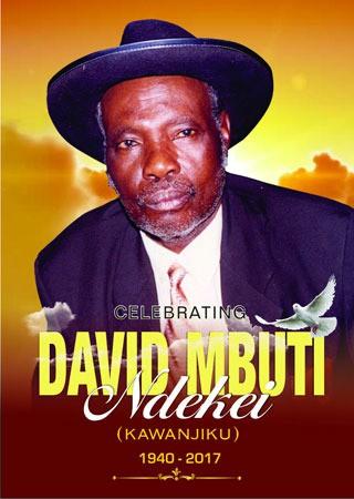 David Muti Ndekei