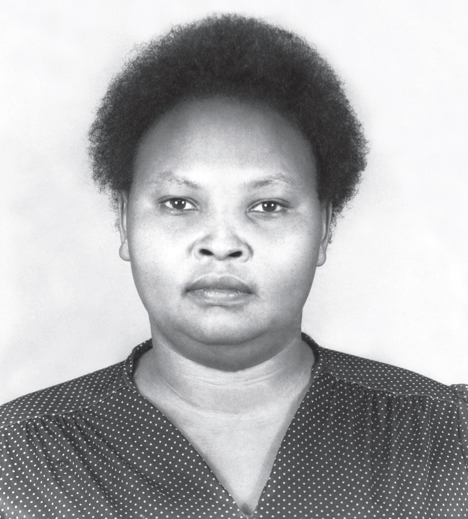 Lucy Wanjiru Mbiu  ('Mama Esther')