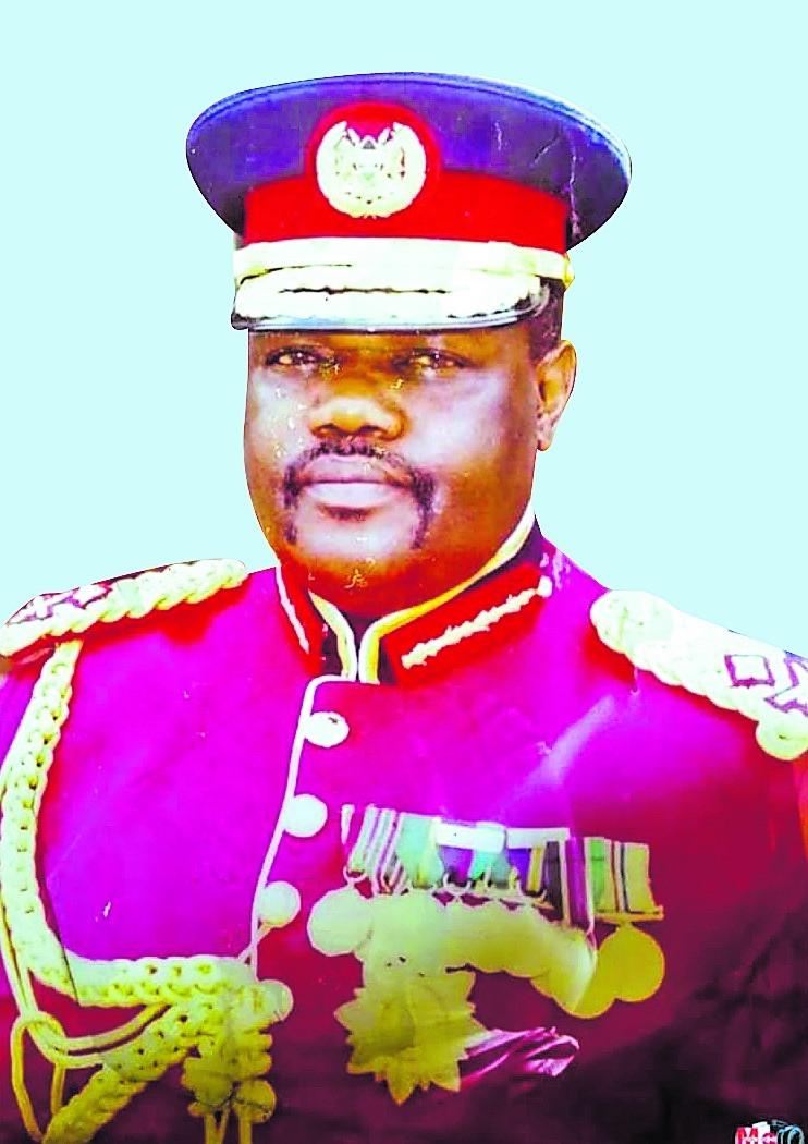 Major General (Rtd) Amb George Nadida Agoi CBS 'ndc' (IND) 'psc' (UK)