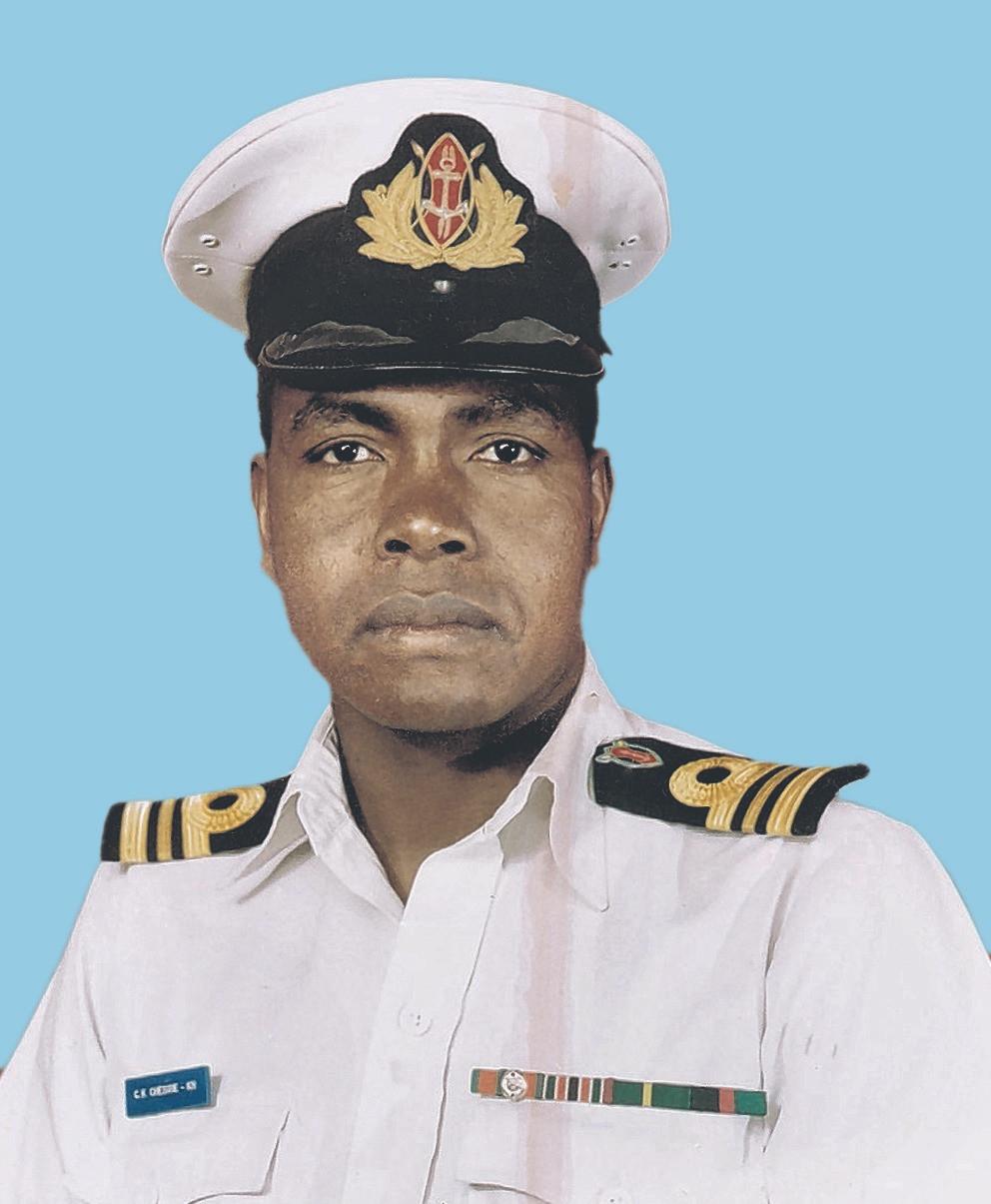 Maj. (Rtd) Charles Kiptarus Chesire, OGW (Kenya Navy)