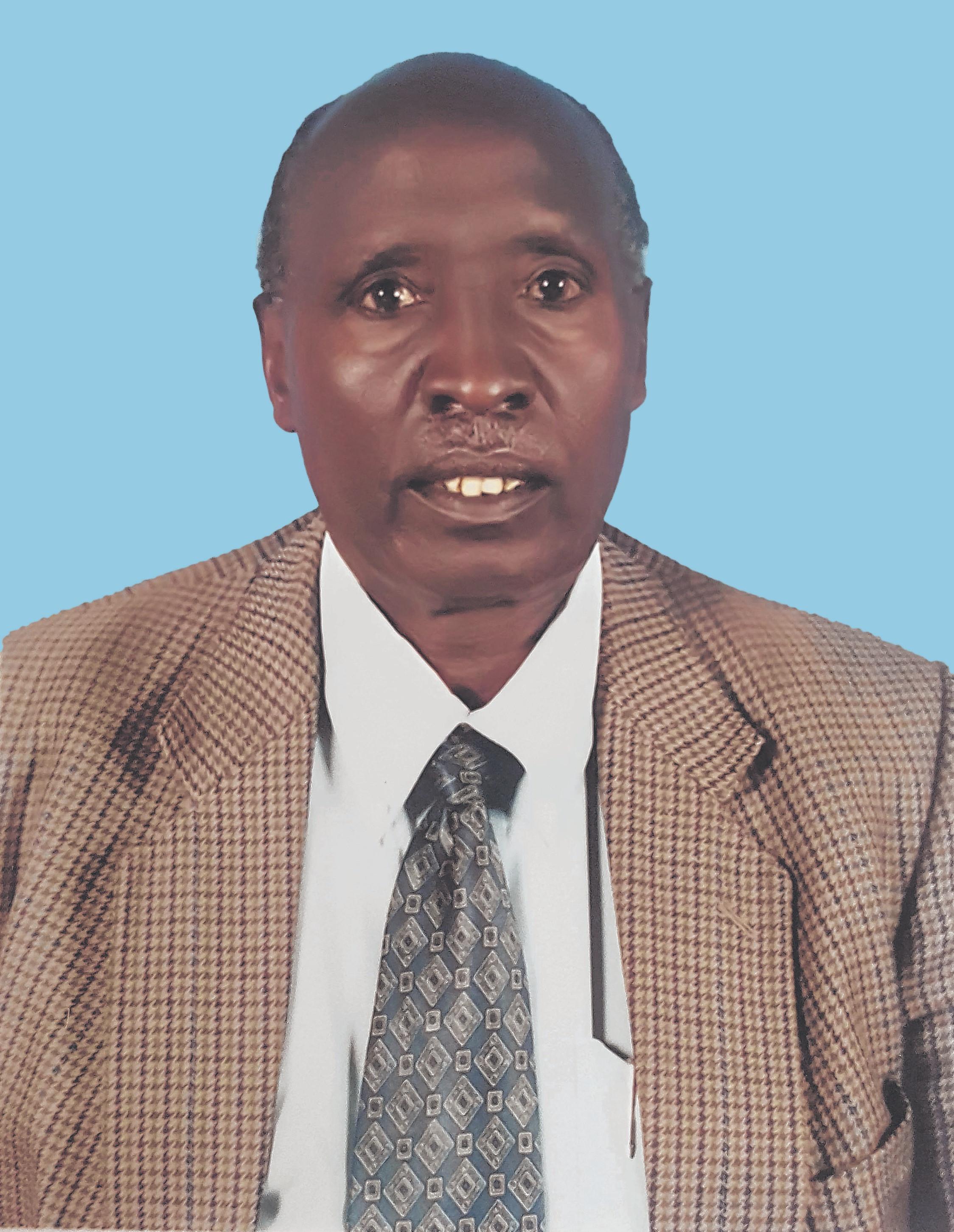Mzee James Shennah Ole Naeku.