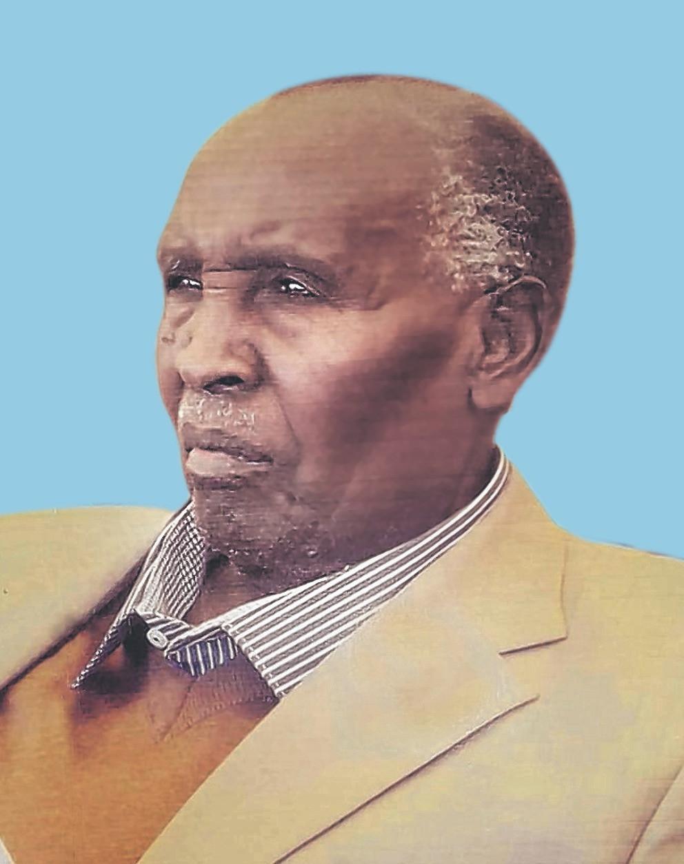 Mzee James Shennah Ole Naeku